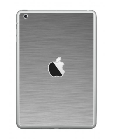 MTS#2 TEXTURED SILVER Apple iPad Mini A1432 SKIN