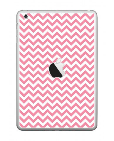 PINK CHEVRON Apple iPad Mini A1432 SKIN