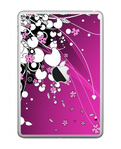 PINK FLOWERS Apple iPad Mini A1432 SKIN