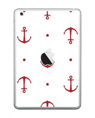 RED ANCHORS Apple iPad Mini A1432 SKIN