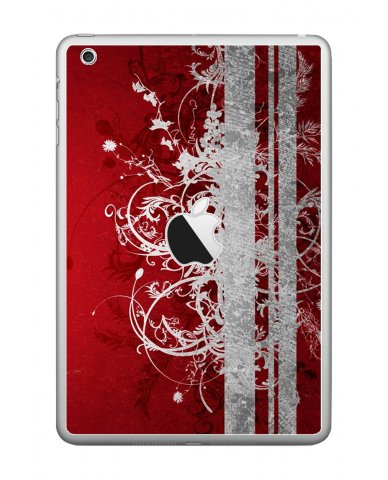 RED GRUNGE Apple iPad Mini A1432 SKIN