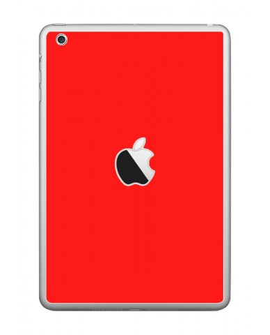 RED Apple iPad Mini A1432 SKIN