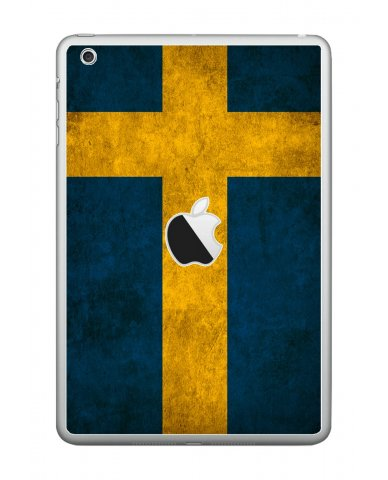 SWEDISH FLAG Apple iPad Mini A1432  LAPTOP SKIN