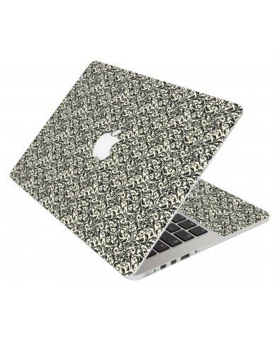 BLACK VERSAILLES MacBook Pro 12 Retina A1534 Laptop Skin