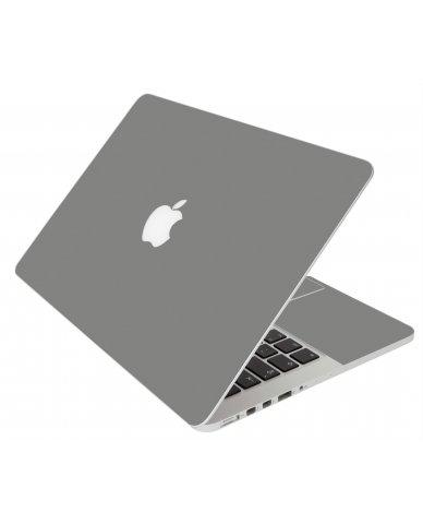 GREY/SILVER MacBook Pro 12 Retina A1534 Laptop Skin