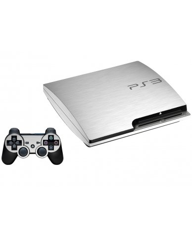 MTS#1 TEXTURED ALUMINUM PLAYSTATION 3 GAME CONSOLE SKIN