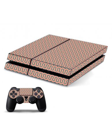FAVORITE WAVE PLAYSTATION 4 GAME CONSOLE SKIN