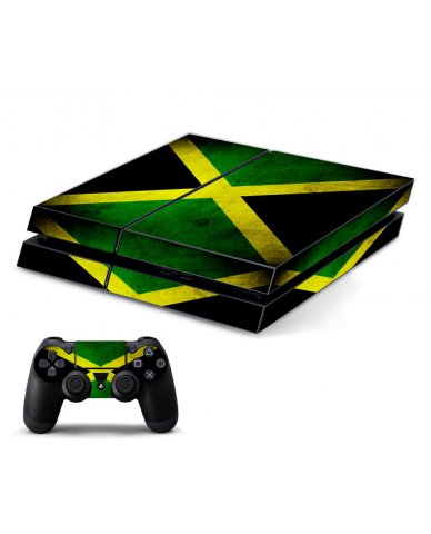 JAMAICAN FLAG PLAYSTATION 4 GAME CONSOLE SKIN