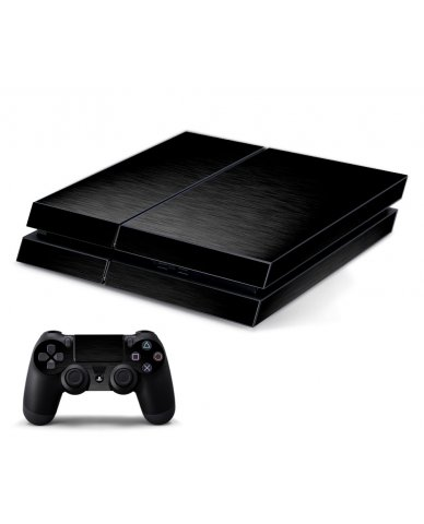 MTS TEXTURED BLACK PLAYSTATION 4 GAME CONSOLE SKIN
