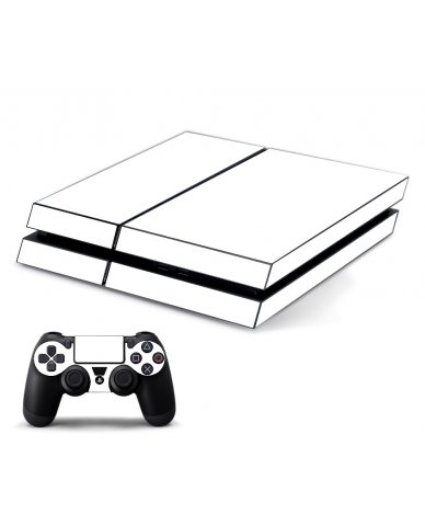 WHITE PLAYSTATION 4 GAME CONSOLE SKIN