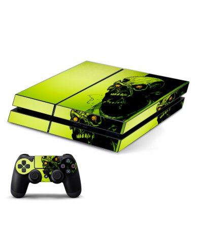 ZOMBIE FACE PLAYSTATION 4 GAME CONSOLE SKIN