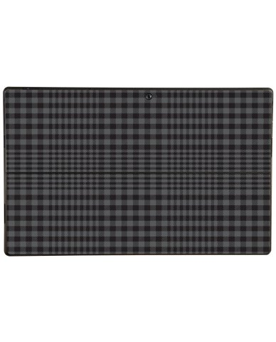 BLACK PLAID Microsoft Surface Pro Skin