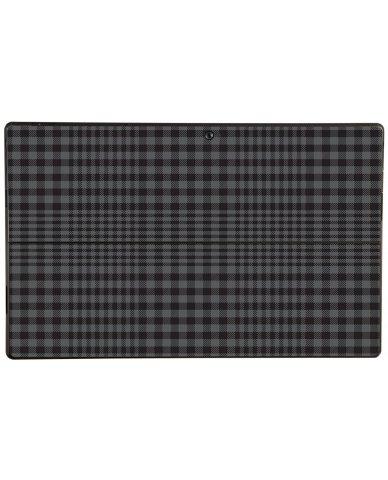 BLACK PLAID Microsoft Surface Pro Skin
