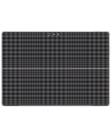 BLACK PLAID Microsoft Surface Pro 3 Skin