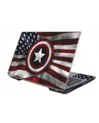 CAPTAIN AMERICA FLAG Universal Skin