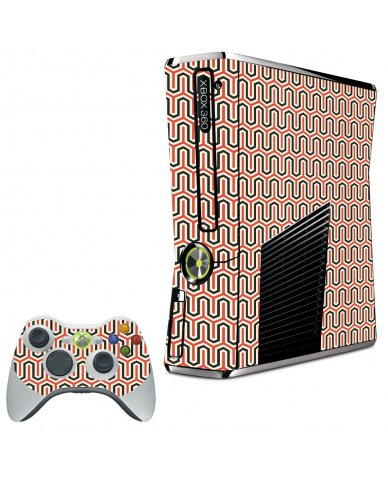 FAVORITE WAVE XBOX 360 SLIM GAME CONSOLE SKIN