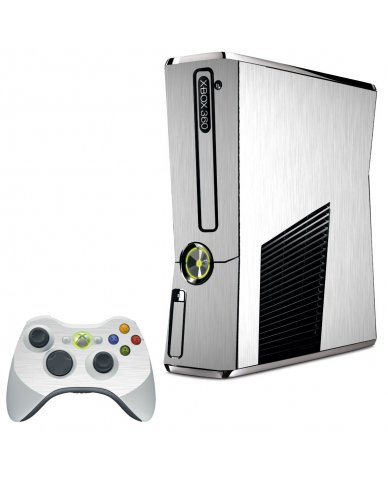 MTS#1 TEXTURED ALUMINUM XBOX 360 SLIM GAME CONSOLE SKIN