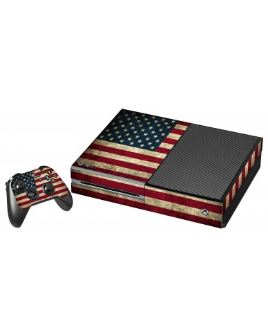 AMERICAN FLAG XBOX ONE GAME CONSOLE SKIN