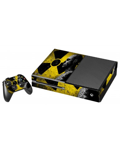 BIOHAZARD ZOMBIE XBOX ONE GAME CONSOLE SKIN