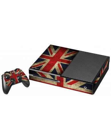 BRITISH FLAG XBOX ONE GAME CONSOLE SKIN
