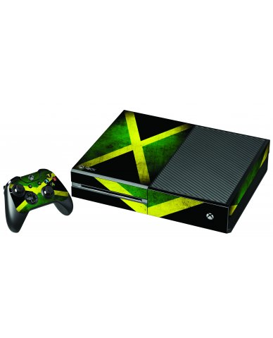 JAMAICAN FLAG XBOX ONE GAME CONSOLE SKIN