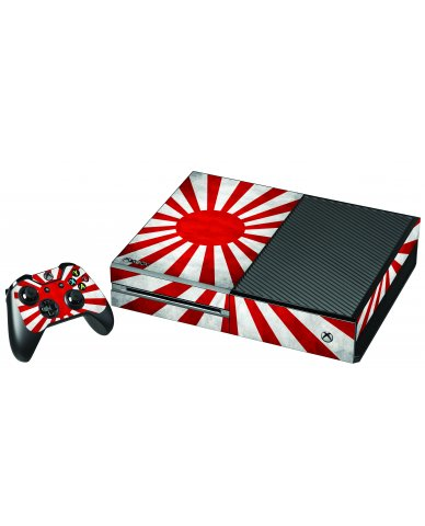 JAPANESE FLAG XBOX ONE GAME CONSOLE SKIN