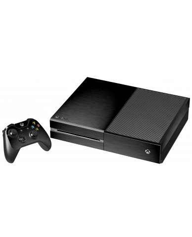 MTS TEXTURED BLACK XBOX ONE GAME CONSOLE SKIN