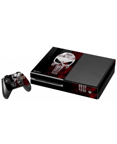 PUNISHER XBOX ONE GAME CONSOLE SKIN