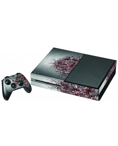 TRIBAL GRUNGE XBOX ONE GAME CONSOLE SKIN