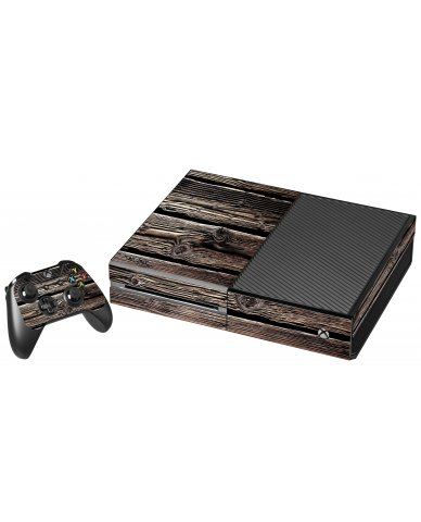 WOOD XBOX ONE GAME CONSOLE SKIN