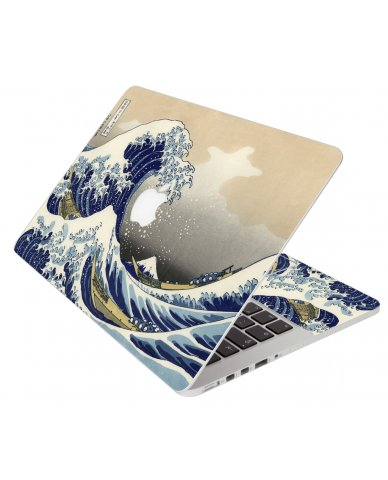 Great Japanese Wave Apple Macbook Pro 13 Retina A1502 Laptop Skin