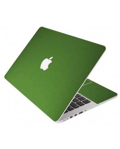 Green Metallic Apple Macbook Pro 13 Retina A1502 Laptop Skin