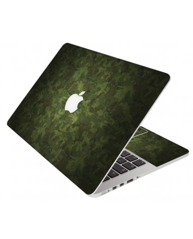 Grunge Camouflage Apple Macbook Pro 13 Retina A1502 Laptop Skin
