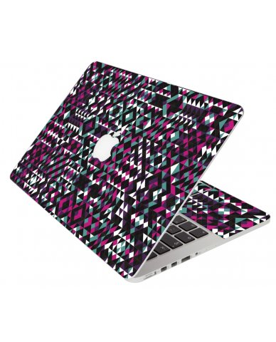 Abstract Mosaic Apple Macbook Pro 13 Retina A1502 Laptop Skin