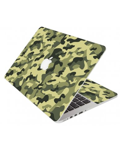 Green Camouflage Apple Macbook Pro 13 Retina A1502 Laptop Skin