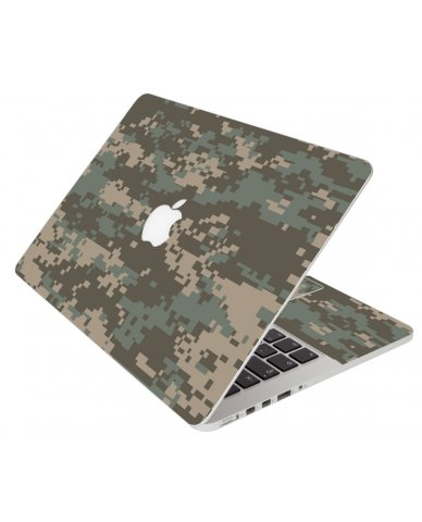 Camouflage Pixels Apple Macbook Pro 13 Retina A1502 Laptop Skin