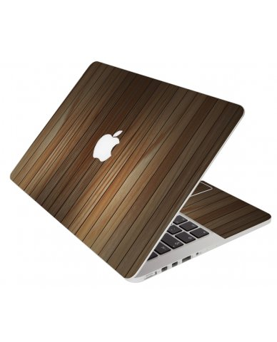 Light Wood Panels Apple Macbook Pro 13 Retina A1502 Laptop Skin