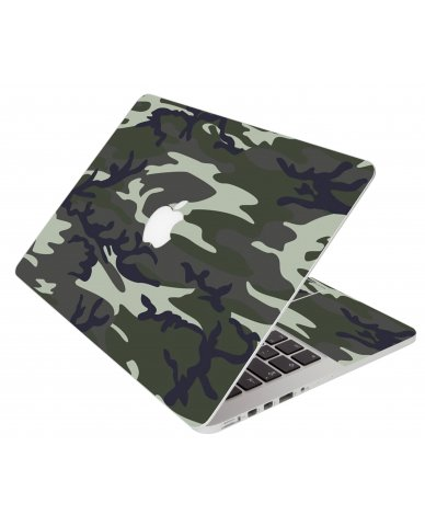 Army Camouflage Apple Macbook 12 Retina A1534