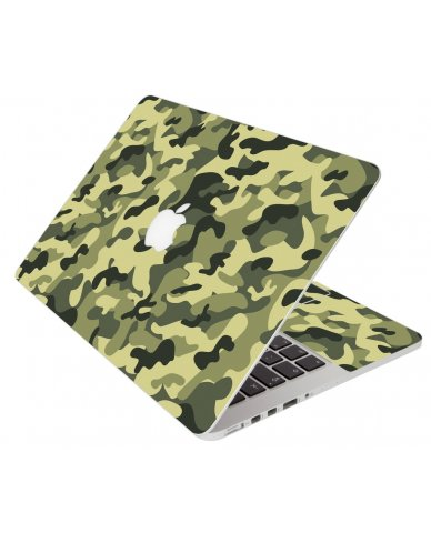 Green Camouflage Apple Macbook 12 Retina A1534