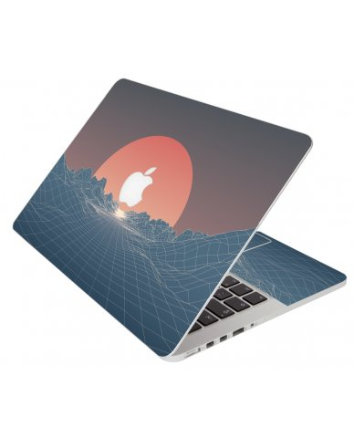 Retro Red Planet Apple Macbook 12 Retina A1534