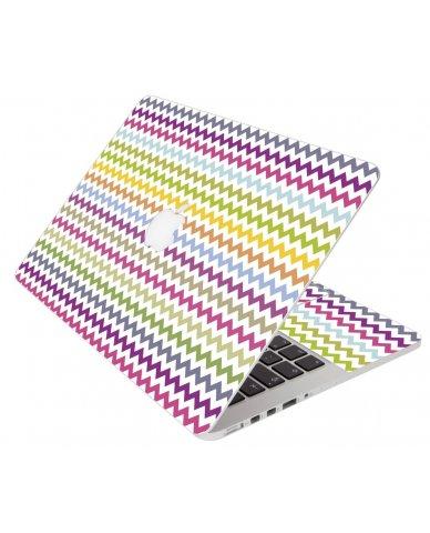 Bright Multi Color Chevron Apple Macbook 12 Retina A1534