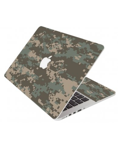 Camouflage Pixels Apple Macbook 12 Retina A1534
