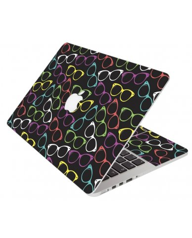 Colorful Retro Glasses Apple Macbook 12 Retina A1534