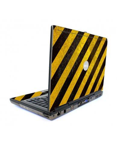 Caution Stripes Dell D620 Laptop Skin