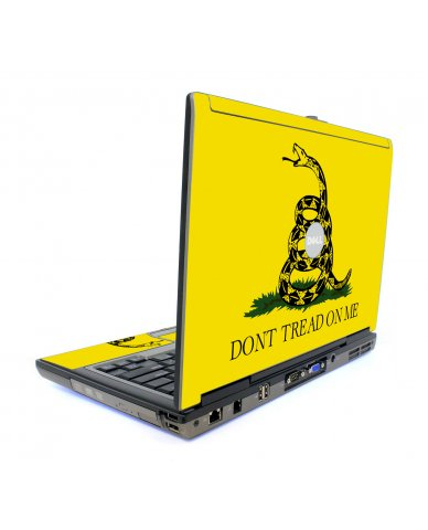 Dont Tread On Me Dell D620 Laptop Skin