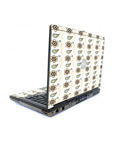 Fun Floral Dell D620 Laptop Skin