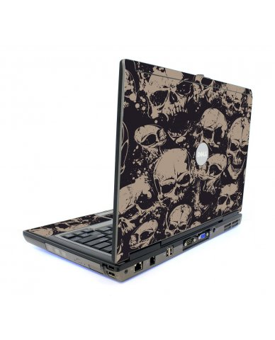 Grunge Skulls Dell D620 Laptop Skin