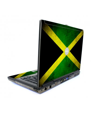 Jamaican Flag Dell D620 Laptop Skin