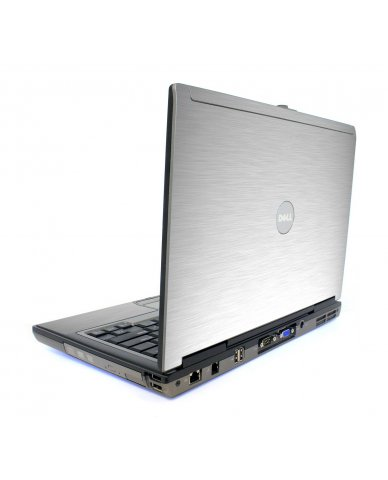 Mts #1 Textured Aluminum Dell D620 Laptop Skin