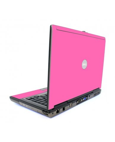 Pink Dell D620 Laptop Skin